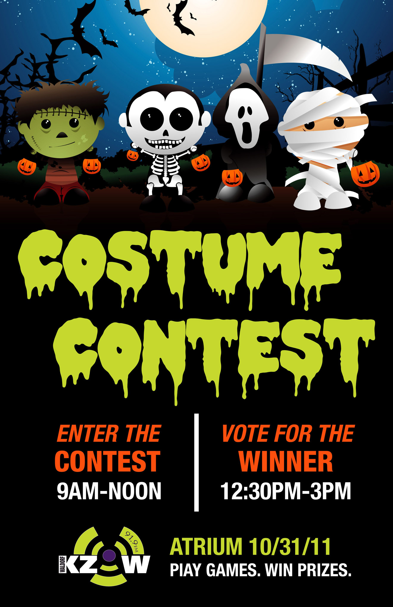 KZOW Costume Contest