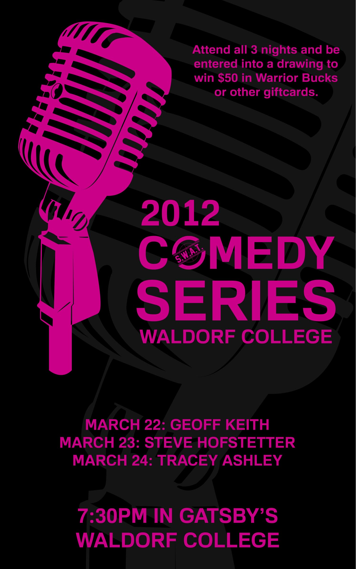 KZOW Live Event - Comedy Series!