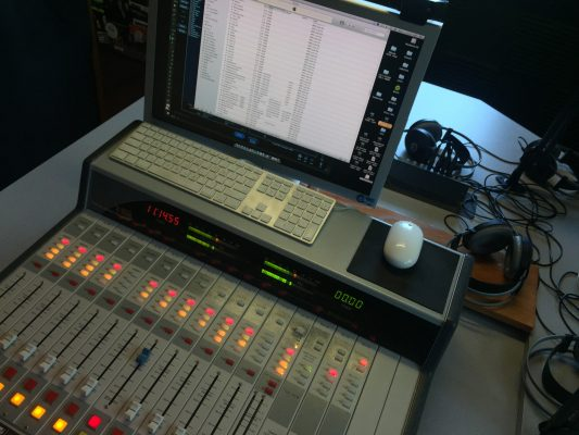 Image of radio station board number two